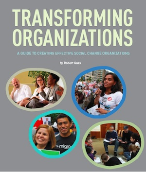 Transforming Organizations book cover image